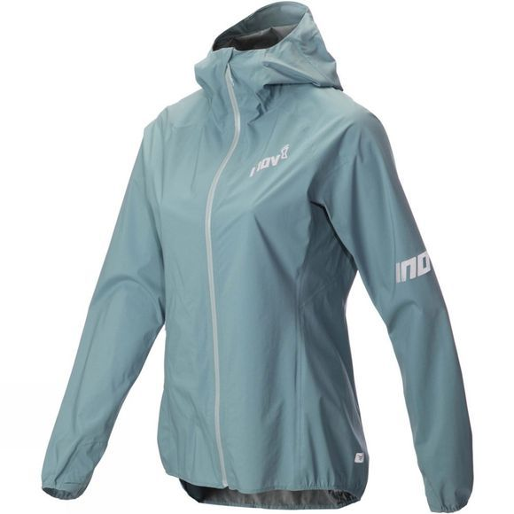 Inov-8 Womens AT/C Stormshell FZ Jacket Blue Grey