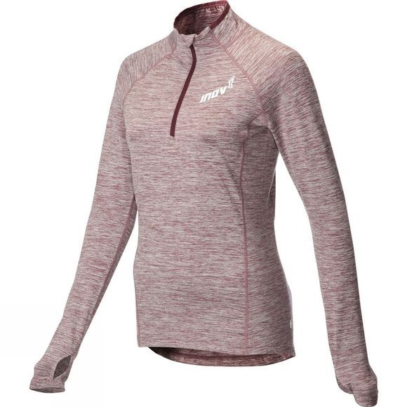 Inov-8 Womens AT/C Mid Long Sleeve Zip Fleece Purple