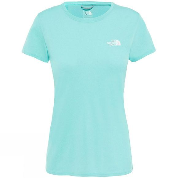 The North Face Women's Reaxion Amp Crew Mint Blue Heather