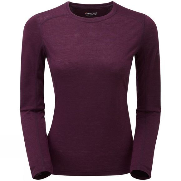 Montane Womens Primino 140 Long Sleeve T-Shirt Saskatoon Berry