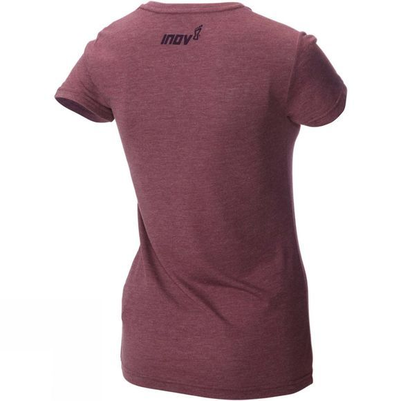 Inov-8 Womens Tri Blend Short Sleeve Division Top Purple