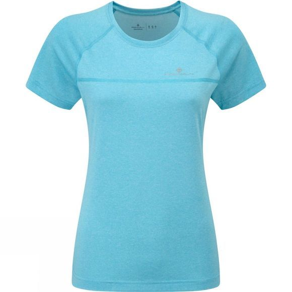 Ronhill Womens Everyday Short Sleeve Tee Surf Marl