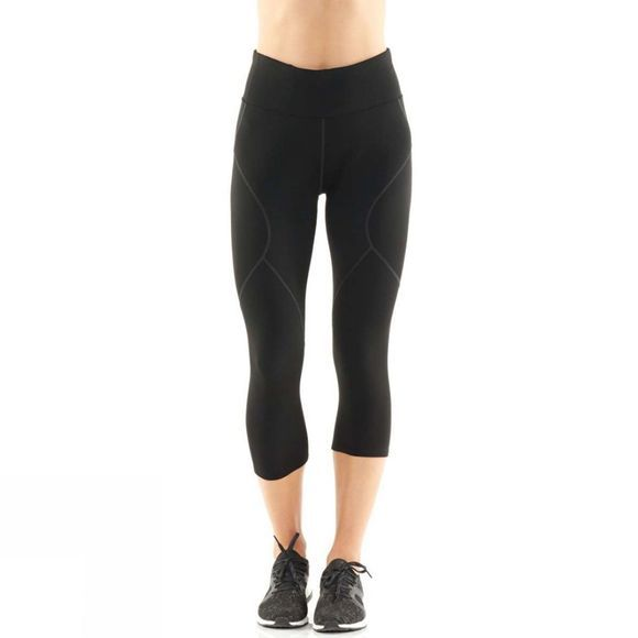Icebreaker Womens Tranquil 3Q Tights Black