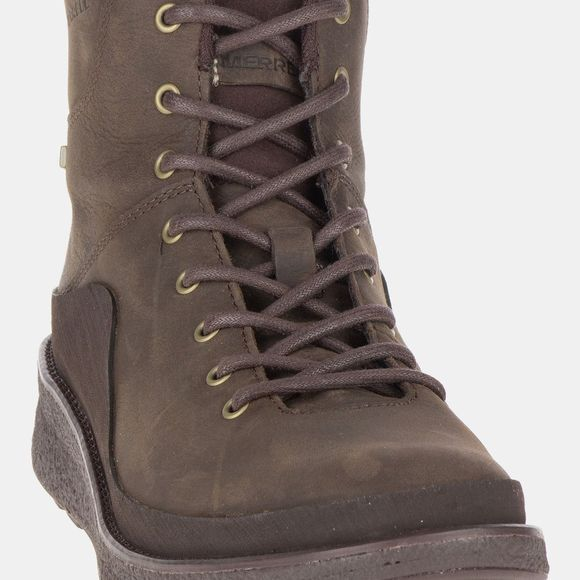 Merrell Womens Tremblant Ezra Bluff Waterproof Boot Espresso