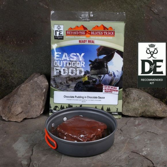 Beyond The Beaten Track Chocolate Pudding in Chocolate Sauce No Colour