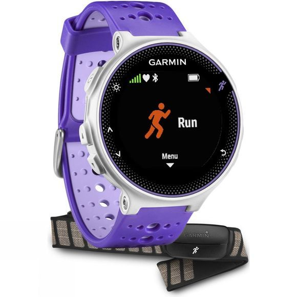 Garmin Forerunner 230 GPS HRM Bundle Purple/white