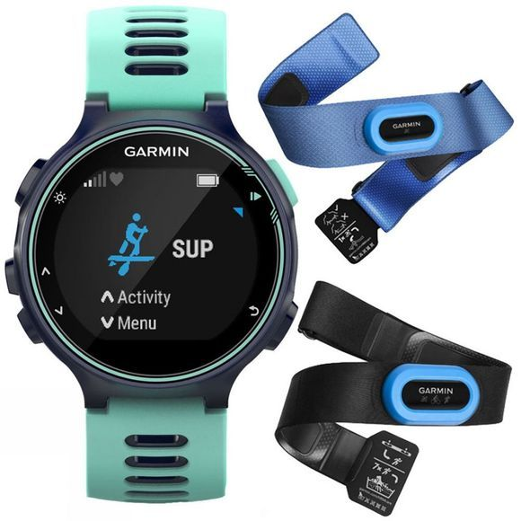 Garmin Forerunner 735XT Tri Bundle Midnight Blue/Frost Blue