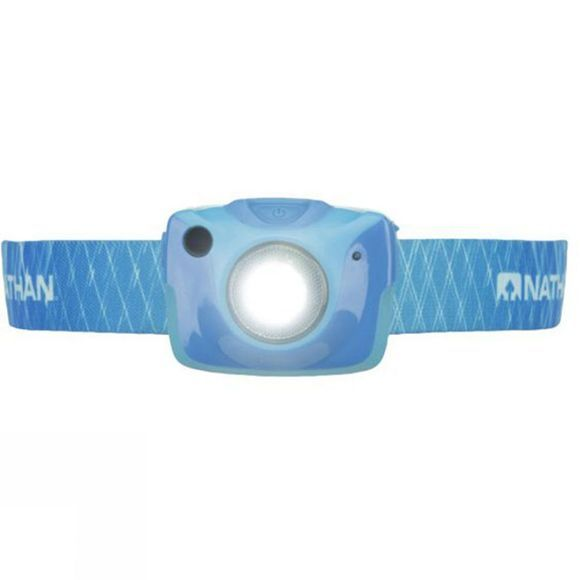 Nathan Nebula Fire Head Torch ATOMIC BLUE