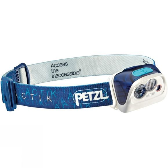 Petzl Actik 300L Headtorch Blue