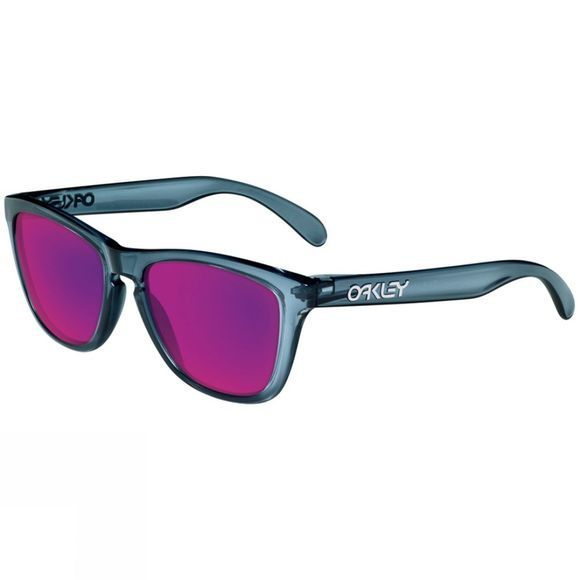 Oakley Frogskins Sunglasses CrystalBlack/Positive Red Iridium