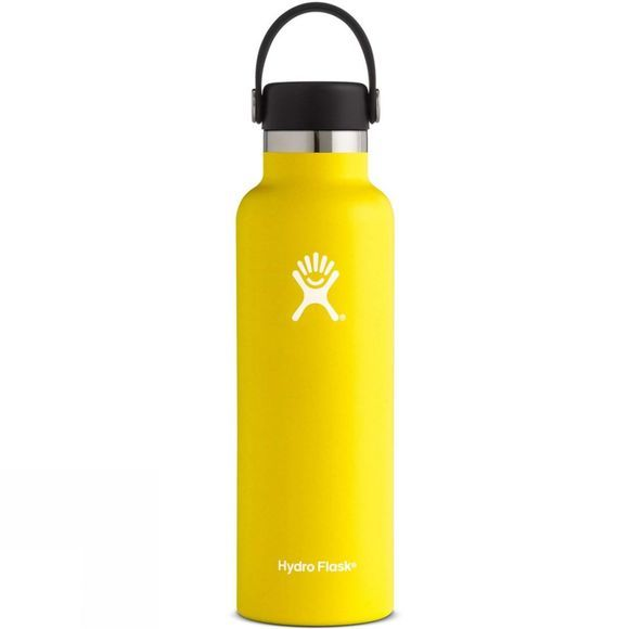 Hydro Flask Standard Mouth 21oz with Flex Cap Lemon