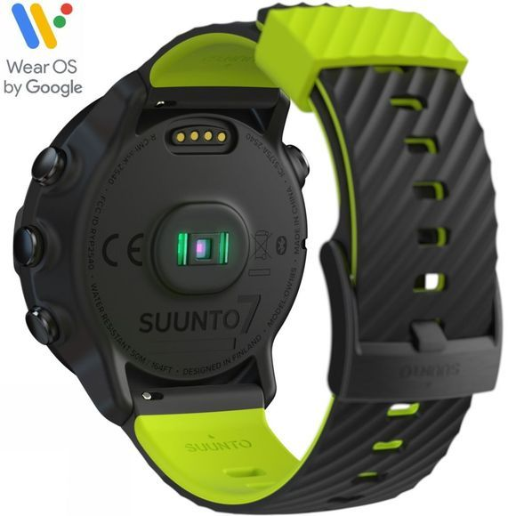 Suunto 7 GPS Multisport Watch Black/Lime