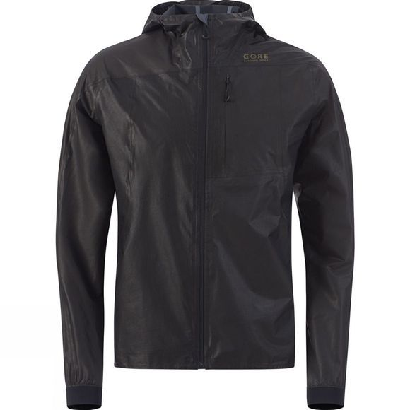 Gore Running Wear Mens ONE GTX® Active Run Jacket Black