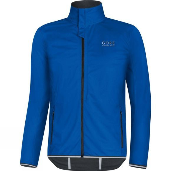 Gore Running Wear Mens Essential Windstopper Softshell Light Jacket brilliant blue
