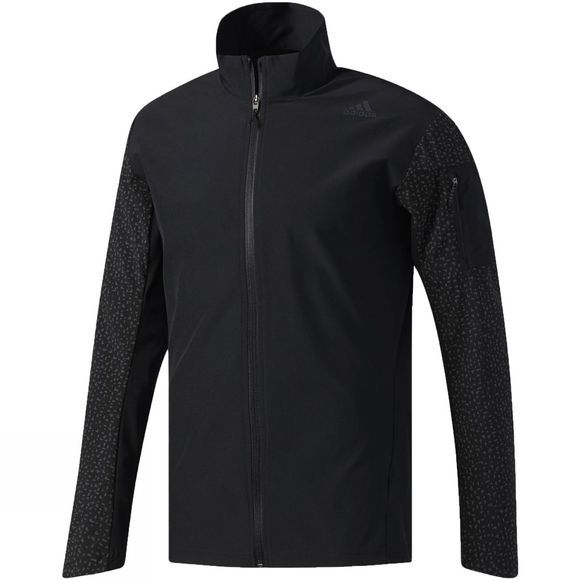 Adidas Mens Supernova Storm Jacket  Black