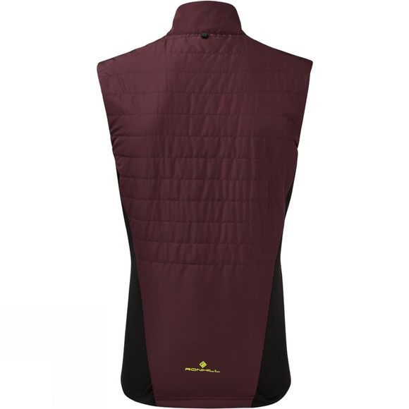 Ronhill Mens Stride Winter Gilet Fig/Black