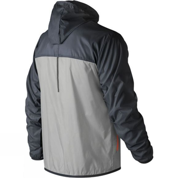 New Balance Mens Windcheater Jacket Thunder