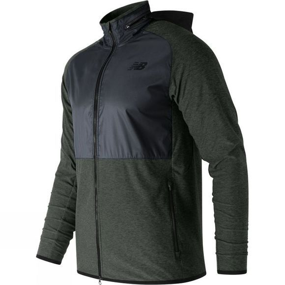 New Balance Mens Anticipate Jacket Black/Grey