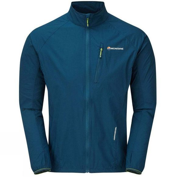 Montane Mens Featherlite Trail Jacket Narwhal Blue