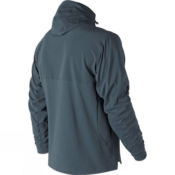 New Balance Mens Max Intensity Jacket Petrol