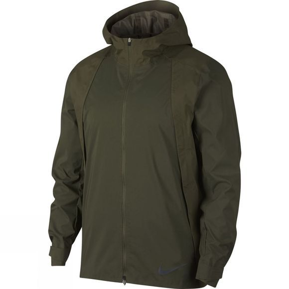 Nike Mens Zonal Aeroshield Jacket Olive Canvas/Reflect Black