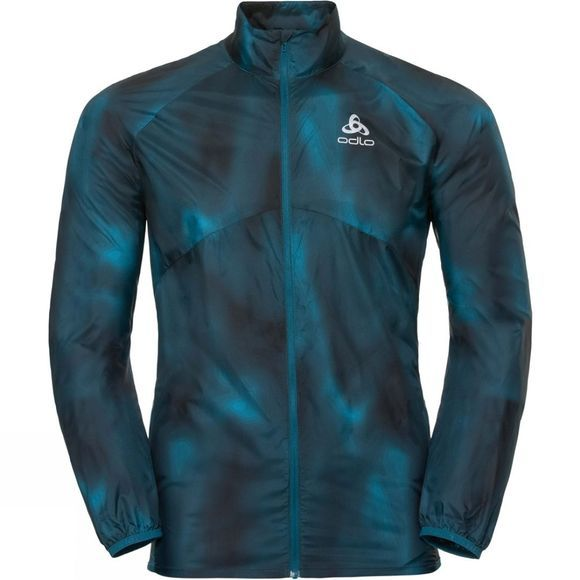 Odlo Odlo Omnius Light Jacket Blue Coral