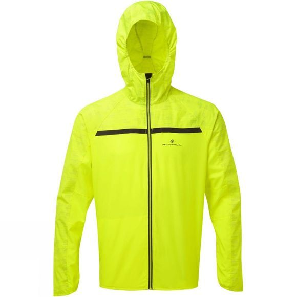 Ronhill Men's Momentum Afterlight Jacket Fluo Yellow/Reflect