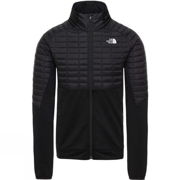 The North Face Mens Ambition Thermoball  Hybrid Jacket Tnf Black