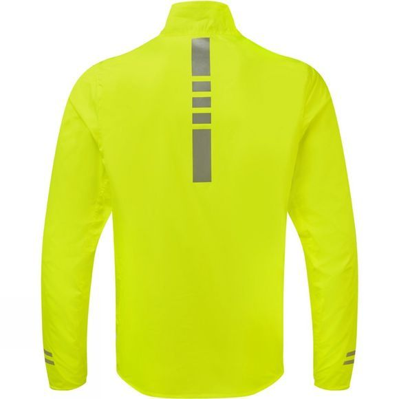 Ronhill Mens Stride Sundown Jacket Fluo Yellow/Reflect