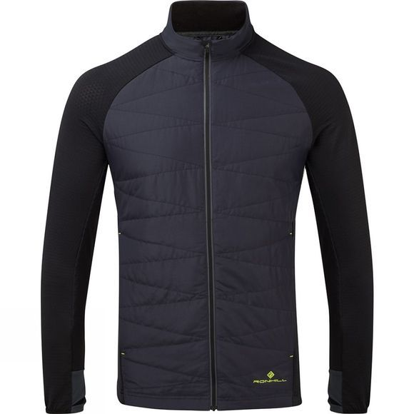 Ronhill Men's Stride Hybrid Jacket Charcoal/Black