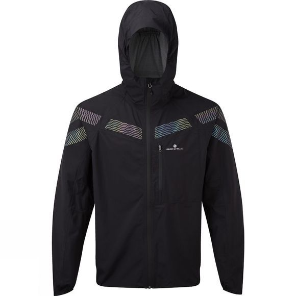 Ronhill Men's Infinity Nightfall Jacket Black/Reflect