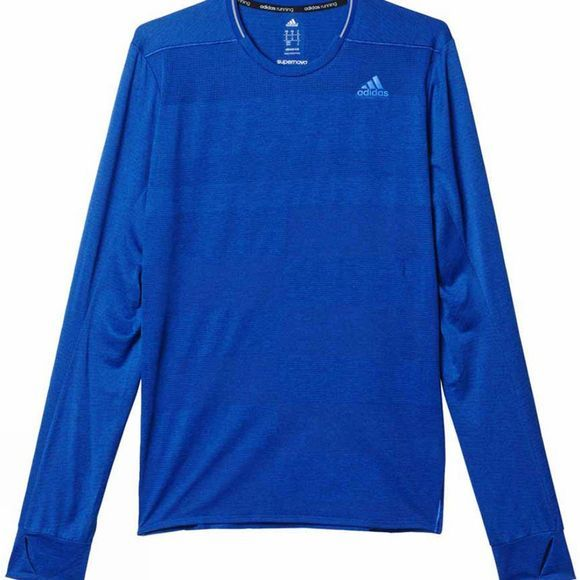 Adidas Men's Supernova Longsleeve Tshirt  COLLEGIATE ROYAL