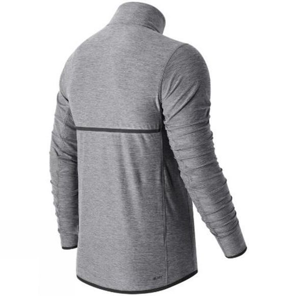 New Balance Men's Transit 1/4 Zip ATHLETIC GREY