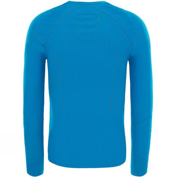 The North Face Mens Flight Pack Long Sleeve Top Brilliant Blue