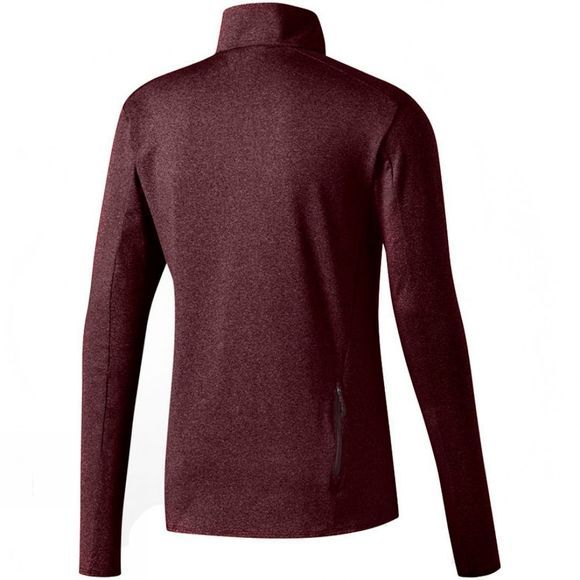 Adidas Mens Supernova 1/2 Zip Top Dark Burgundy F12