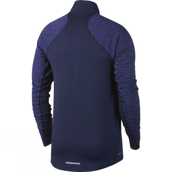 Nike Mens Therma Sphere 1/2 Zip Top Binary Blue/Binary Blue/Htr