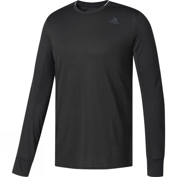 Adidas Mens Supernova Long Sleeve Tee Black