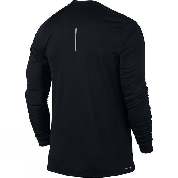 Nike Mens Nike Miler Long Sleeve Top Black