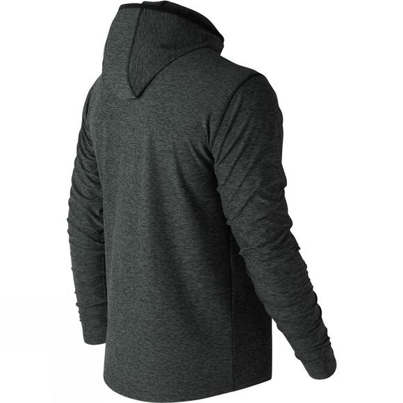 New Balance Men's Space Dye Hoodie Black/Grey