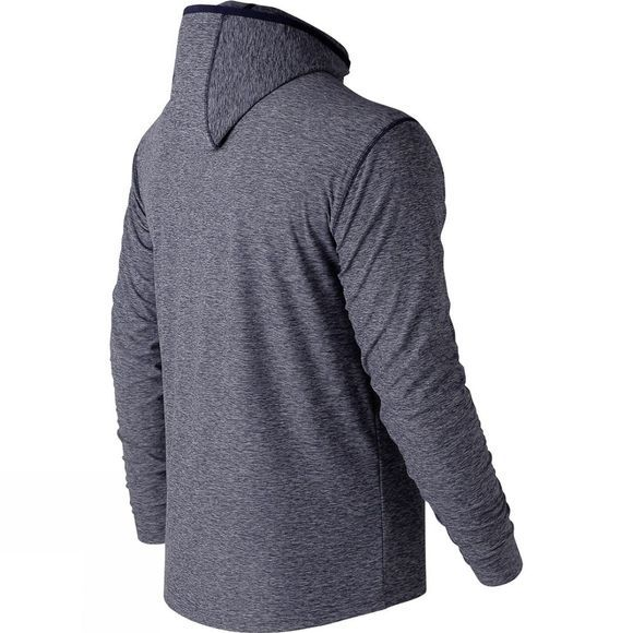 New Balance Men's Space Dye Hoodie Pigment