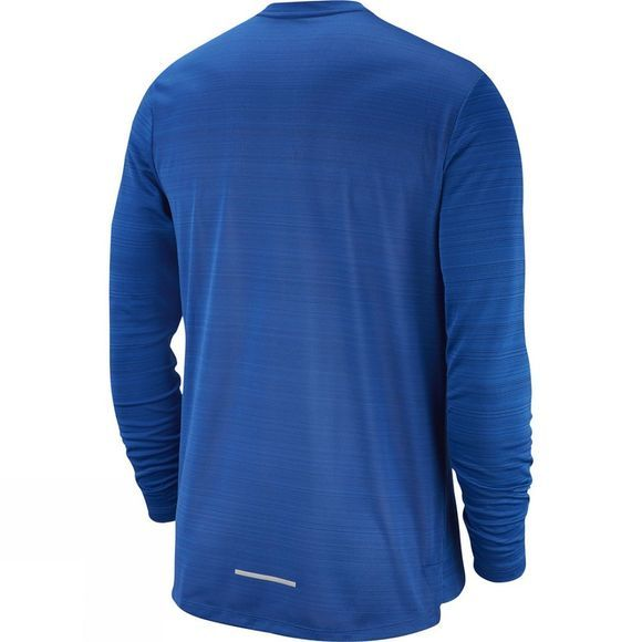 Nike Men's Dry Miler Long Sleeve Top Indigo Force