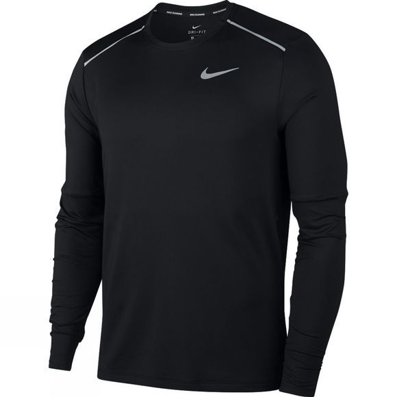 Nike Element Crew Long Sleeve Top Black