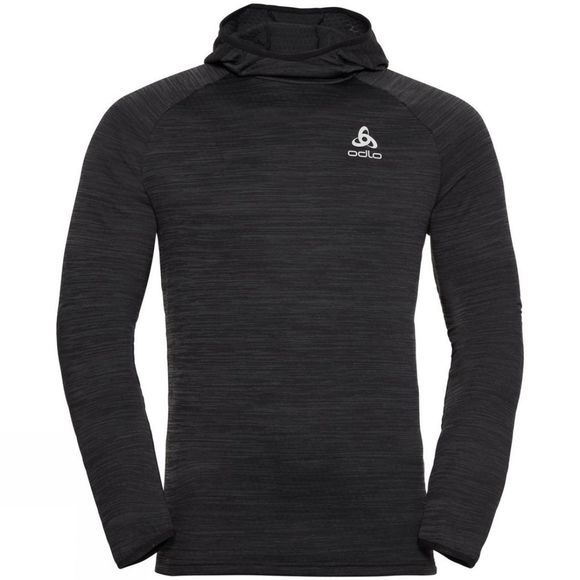 Odlo Mens Millennium Element Midlayer Hoody Black Melange