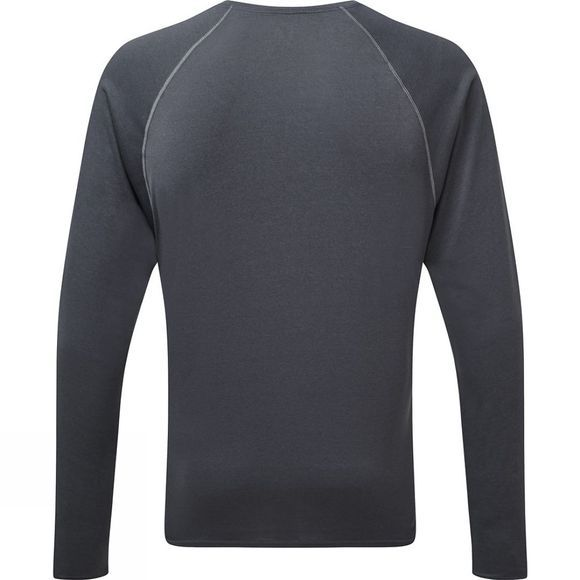 Ronhill Everyday Long Sleeve Tee Charcoal Marl