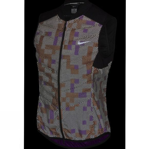 Nike Women's Aeroloft Flash Vest BLACK/REFLECTIVE SIL