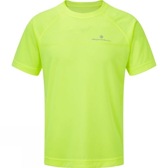 Ronhill Men's Everyday Short Sleeve Tee Fluo Yellow