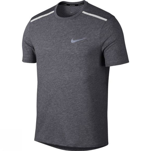 Nike Mens Breathe Rise 365 Running Top Gunsmoke Heather