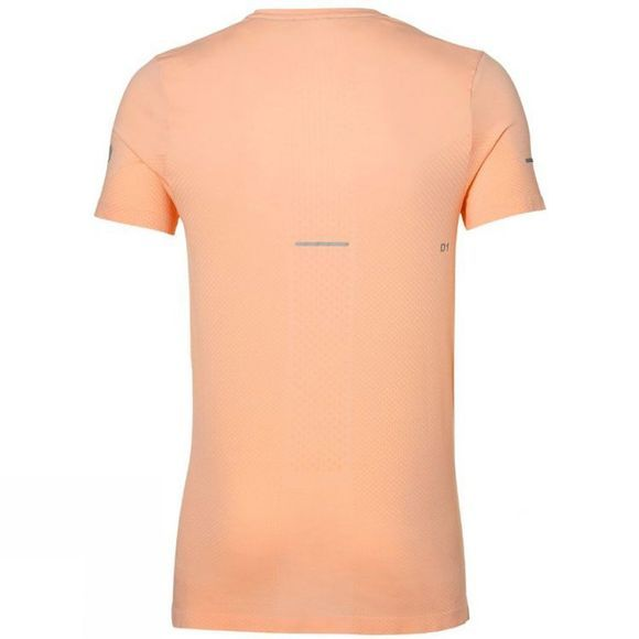 Asics Mens Seamless Short Sleeve Top Apricot Ice Heather
