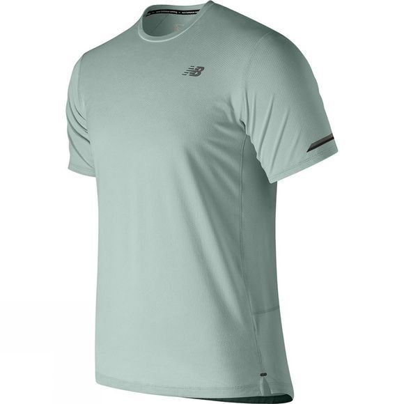 New Balance Mens Ice 2.0 Short Sleeve Top WTEAGAVE