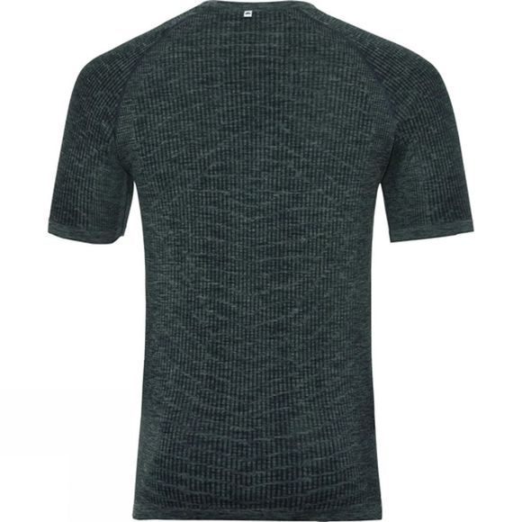 Odlo Mens BL Top Crew Neck Blackcomb Light  Dark Grey/Black